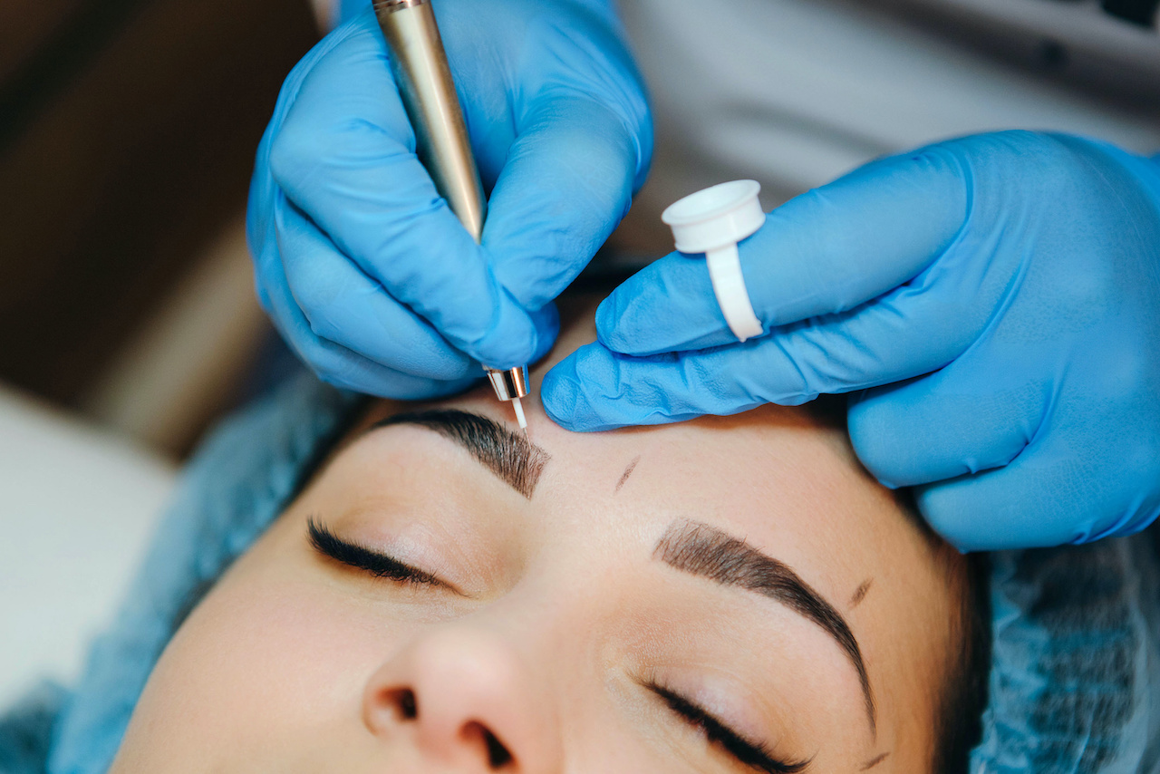 Microblading formation