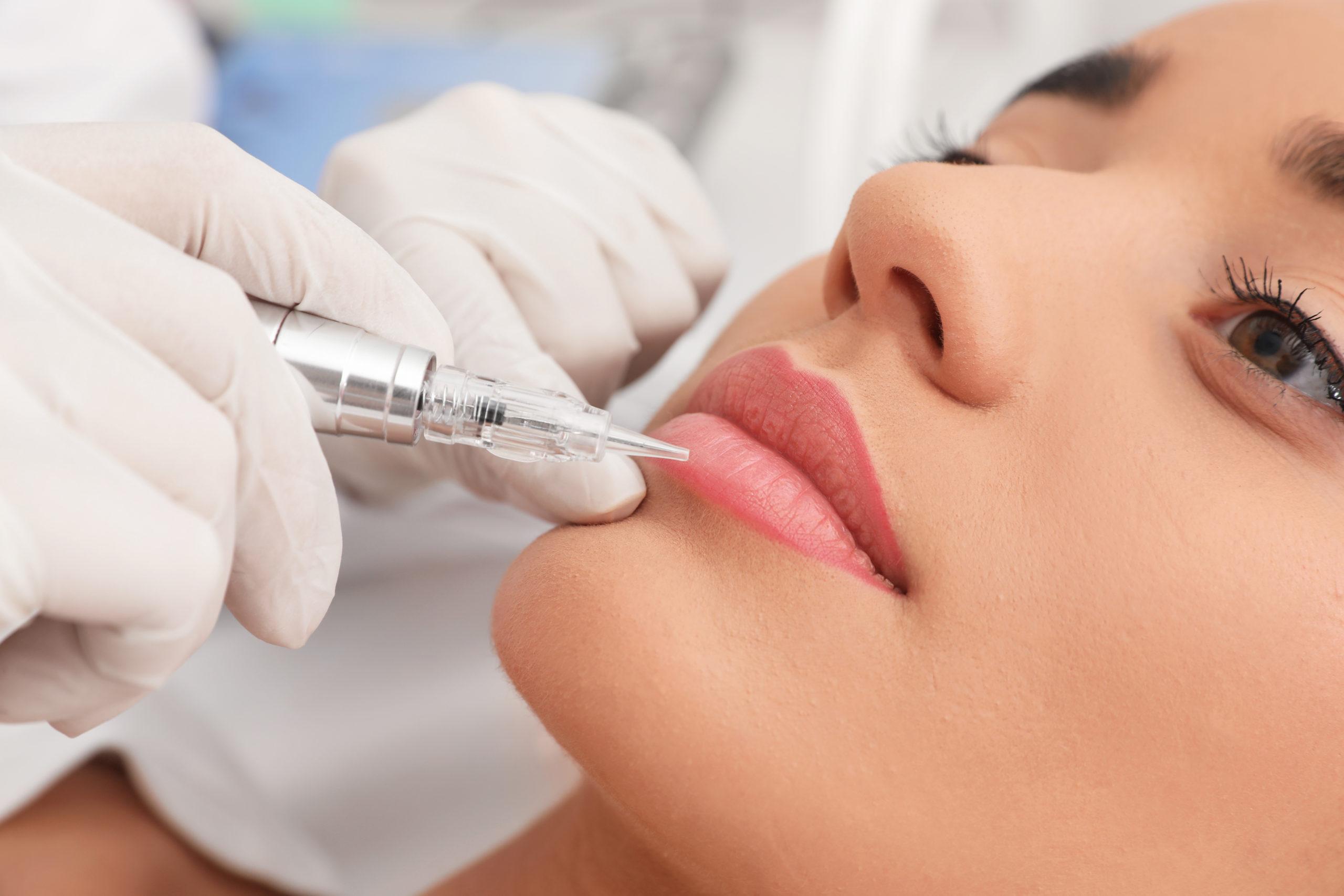 Dermopigmentation lèvre